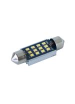 [LED autožiarovka sulfid C7W 39mm Canbus biela 4th Gen.]