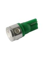 [LED Ceramic autožiarovka T10 W5W zelená]