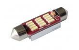 [LED autožiarovka Sulfid C7W 39mm Canbus biela 3rd Gen.]