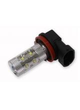 [Cree LED autožiarovka H11 Canbus biela 80W]
