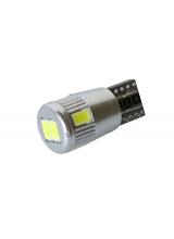 [LED autožiarovka T10 W5W Canbus biela 3rd Gen.]