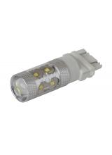 [Cree LED autožiarovka T25 (P27/7W) Canbus biela 60W]