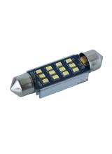 [LED autožiarovka sulfid C10W 42mm Canbus Biela 4th Gen.]