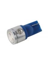[LED Ceramic autožiarovka T10 W5W modrá]