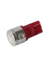 [LED Ceramic autožiarovka T10 W5W červená]