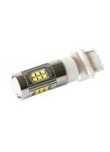 [Cree LED autožiarovka T25 (P27/7W) Canbus 100% biela 150W]