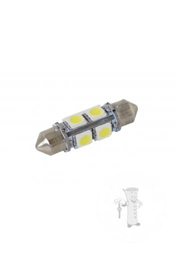 LED autožiarovka Sulfid C5W 36mm 360° biela 2nd Gen.