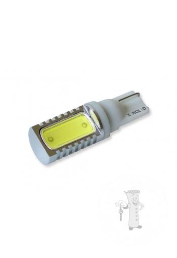 LED autožiarovka T10 W5W biela Ceramic 180°