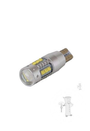 High Power Cree with lens LED žiarovka T15 W16W Canbus 80W