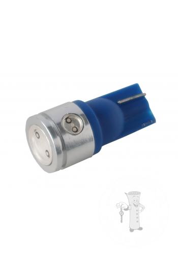 LED Ceramic autožiarovka T10 W5W modrá