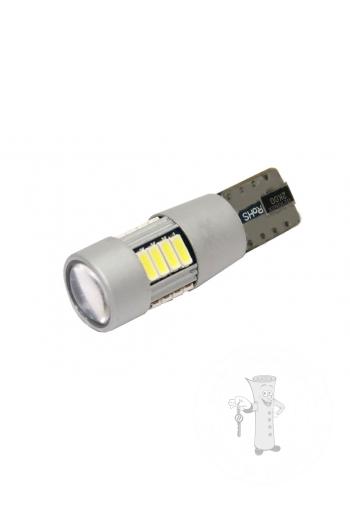 LED autožiarovka T10 W5W Canbus biela 4th Gen.