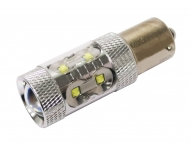Cree LED autožiarovka BA15s P21W Canbus biela 80W