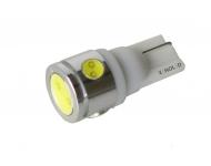 LED Ceramic autožiarovka T10 W5W biela