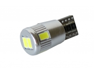 LED autožiarovka T10 W5W Canbus biela 3rd Gen.