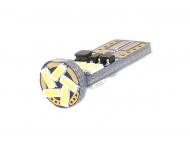 LED autožárovka T10 (W5W) Canbus bílá 4th Gen. verze slim