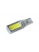 [LED autožiarovka T10 W5W biela Ceramic 180°]