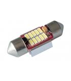 [LED autožiarovka Sulfid C3W 31mm Canbus biela 3rd Gen.]