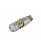 [High Power Cree with lens LED žiarovka T10 W5W Canbus 80w ]