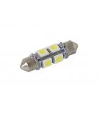 [LED autožiarovka Sulfid C5W 36mm 360° biela 2nd Gen.]