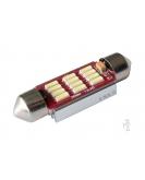 [LED autožiarovka Sulfid C5W 36mm Canbus biela 3rd Gen.]